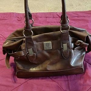 Jessica Simpson leather satchel purse